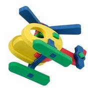 Об'ємний конструктор - іграшка для дітей вертолет