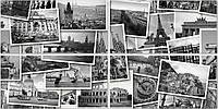 Декор Golden Tile Absolute Collage 30x60 черный