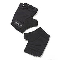 Черные велосипедные перчатки XLS Saturn