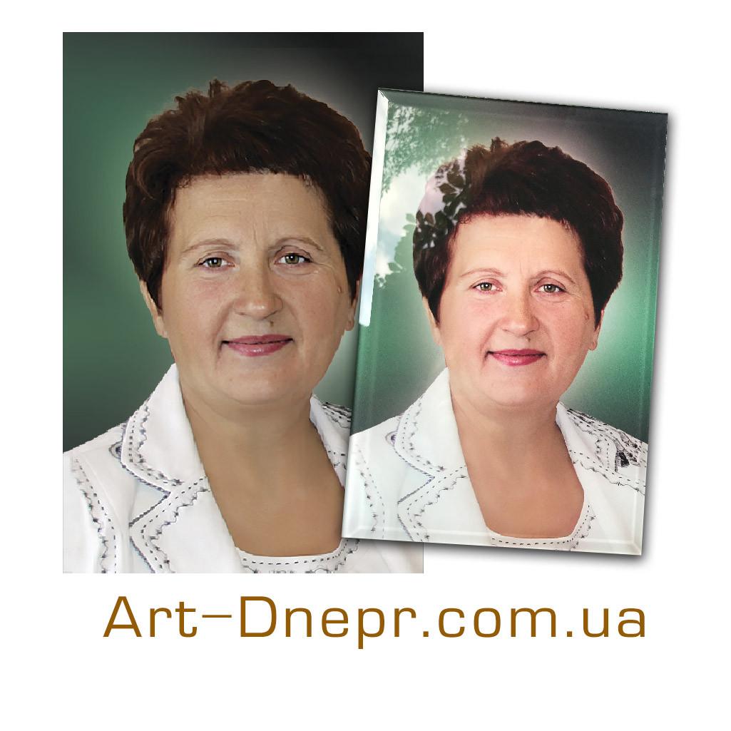 Траурний портрет. Прямокутний 300х400мм