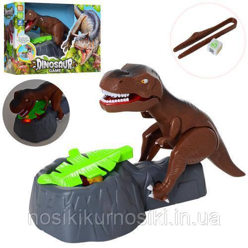 Настольная игра Злой динозавр Дино, Парк Юрского периода Осторожно злой динозавр