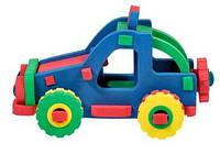 Дерев'яні конструктори - іграшка для дітей машинка