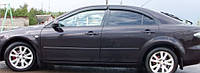 Ветровики Мазда 6 | Дефлекторы окон Mazda 6 I Hb 5d 2002-2007