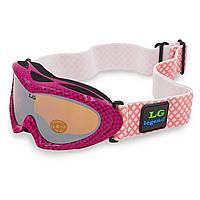 Гірськолижні окуляри дитячі LEGEND (акрил,пластик,PL,подвійні лінзи)