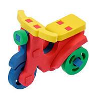 Дерев'яні конструктори - іграшка для дітей мотороллер