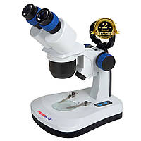Микроскоп стереоскопический SM-6420 10x-30x (МБС 10), фото 1