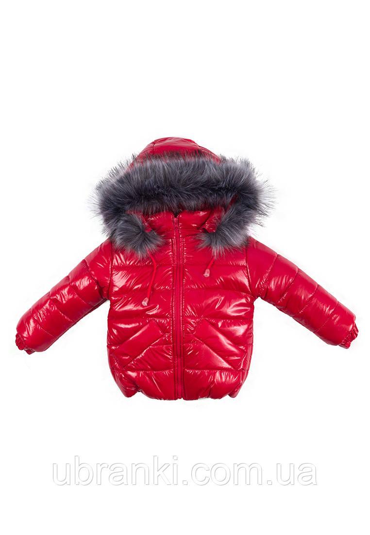 Куртка Малышка для девочки зимняя
