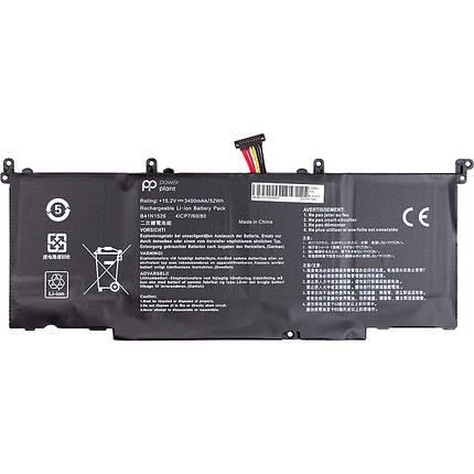 Аккумулятор PowerPlant для ноутбуков ASUS ROG S5 (B41N1526) 15.2V 3400mAh, фото 2