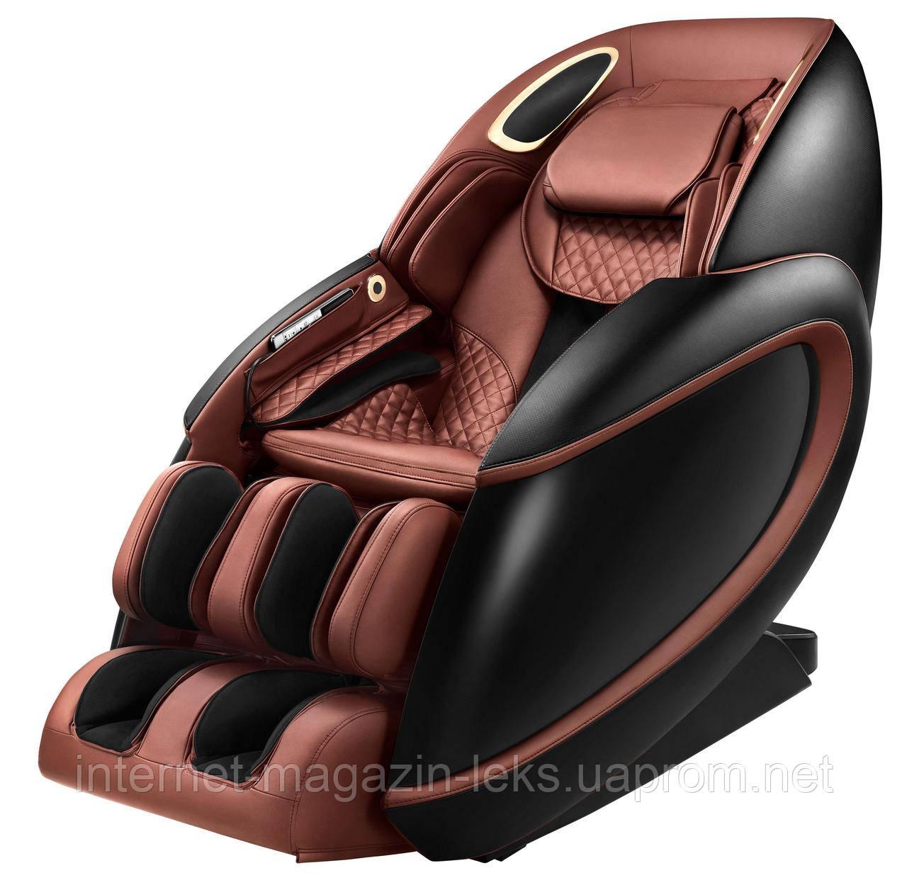 Массажное кресло Pilot II бордовый