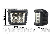 Светодиодные фары ОПТОМ! LED (лэд) фара 12 диодов. 36 Вт. 12-24 Вольт.