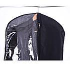 Кофр для одежды  60*100 см (черный), фото 4