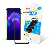 Защитное стекло Global для Vivo Y15 Full Glue Black (1283126505805)