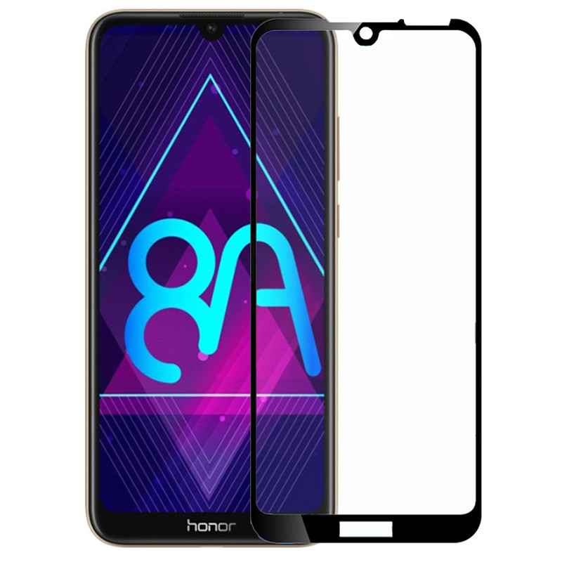 Защитное стекло PowerPlant для Huawei Honor 8A/Honor 8A Pro Black Full Screen (GL607501)