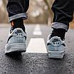 Кроссовки мужские зимние Nike Air Force Grey Fur (мех), фото 3