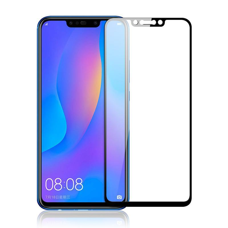 Защитное стекло PowerPlant для Huawei P Smart+ Black Full Screen (GL604890)