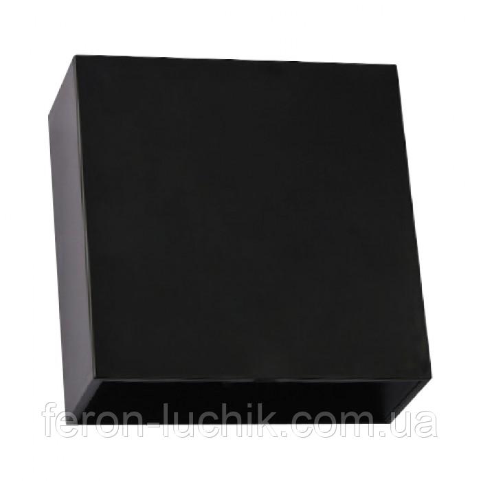 Світлодіодний настінний світильник фасадний Horoz SEKOYA 4W 4200K чорний