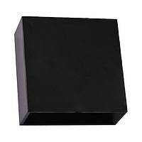 Світлодіодний настінний світильник фасадний Horoz SEKOYA 4W 4200K чорний, фото 1