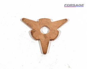 Шайба звезда треугольная для споттера омедненная