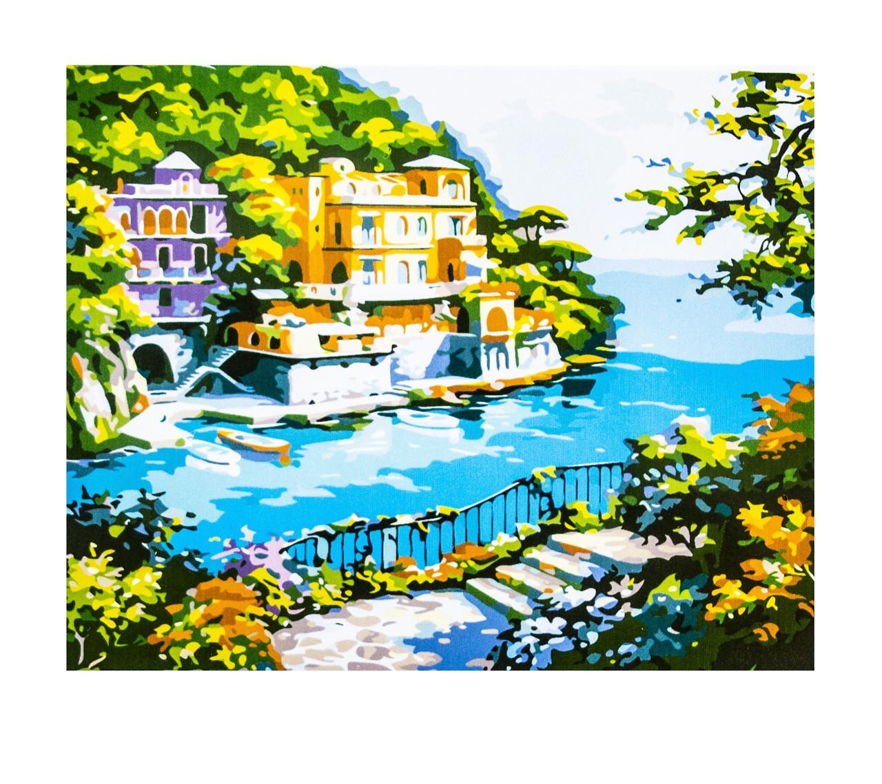 Картина по номерам Пейзаж, размер 40х50