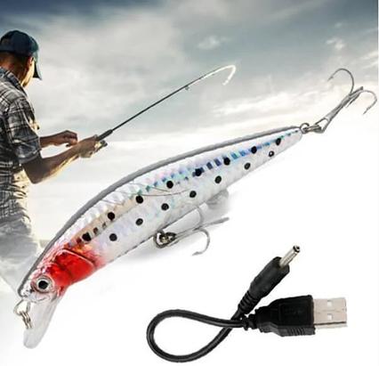 Приманка для рыбалки Twitching Lure № G09-31 Рыбка, фото 2