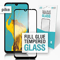 Защитное стекло Piko для Xiaomi Redmi Note 7 Black Full Glue, 0.3mm, 2.5D (1283126490620), фото 1