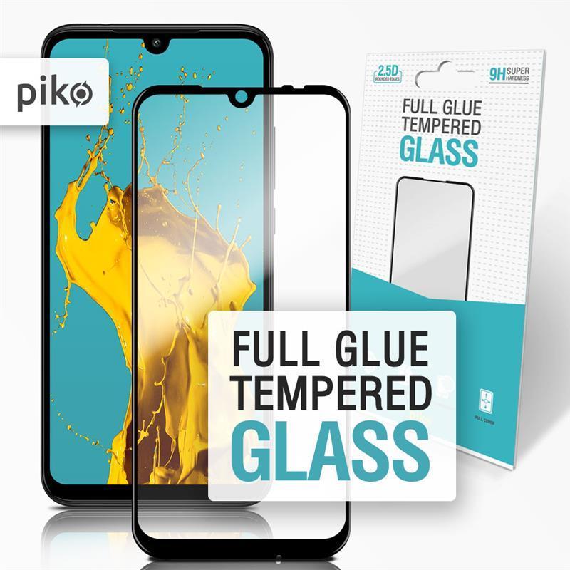 Защитное стекло Piko для Xiaomi Redmi Note 7 Black Full Glue, 0.3mm, 2.5D (1283126490620)