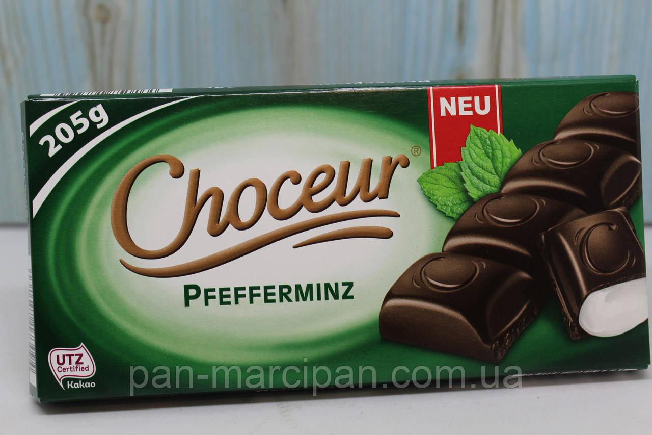Шоколад Choceur Pfefferminz 200г Німеччина