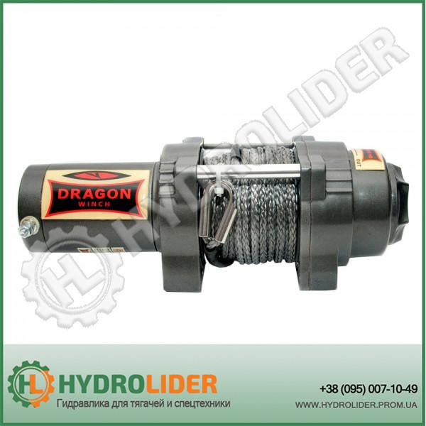 Электрическая лебедка Dragon Winch DWH 2500 HD S с синтетическим тросом