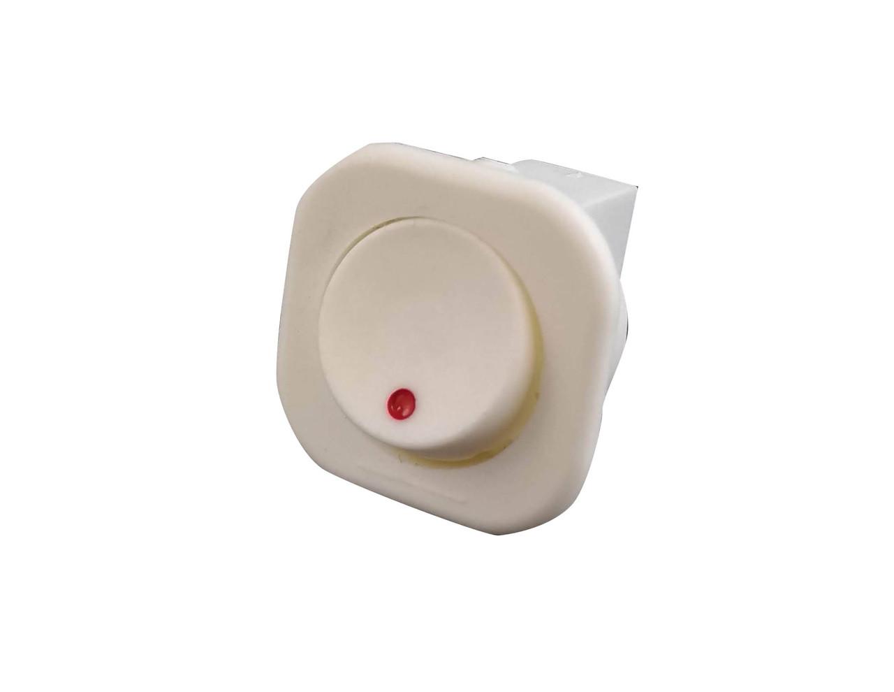 Кнопка квадратная 2 контакта под болт