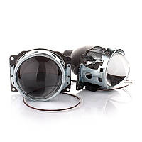 Бі-ксенонові бі лінзи Fantom G6 3,0` (76мм). З масками! 2 шт, під ксенон!, фото 1