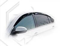 Ветровики Мазда 6   Дефлекторы окон Mazda 6 II Sd 2007-2012