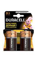 Батарейка D-бочка LR20 2шт DURACELL Basic 1.5V алкалиновая США