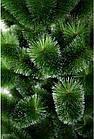 Сосна искусственная 2.2 м Микс Заснеженная зеленая, новогодняя заснеженная сосна жилка-ПВХ с подставкой, фото 5