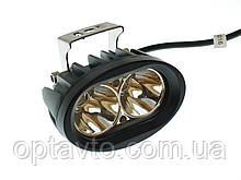 Светодиодные фары ОПТОМ! LED (лэд) фара 2 диода. 20 Вт. 12-24 Вольт.