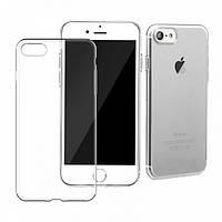 Чехол для iPhone 7 силиконовый бампер прозрачный
