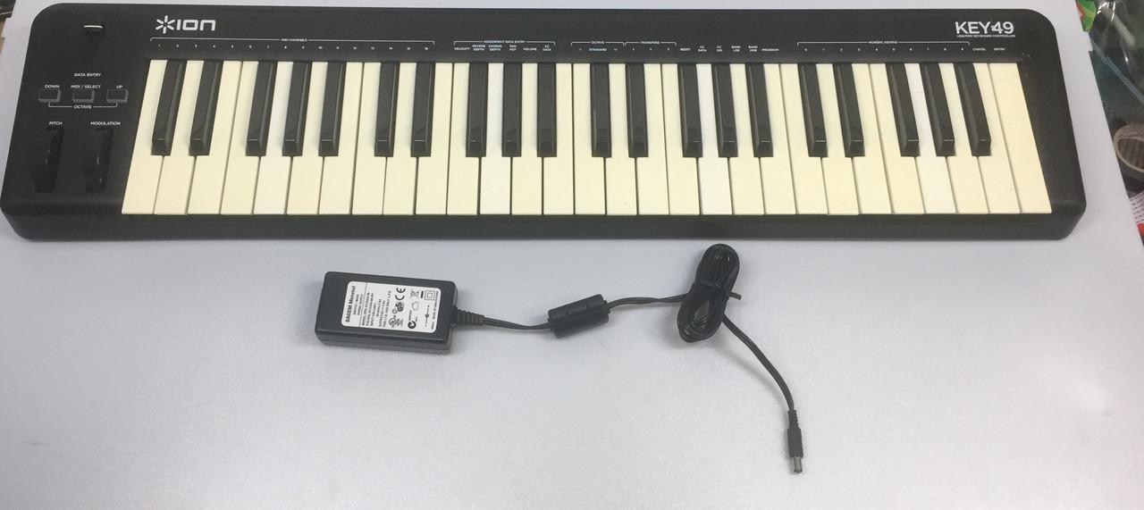 Качественная Midi-клавиатура ION KEY 49