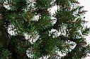 Елка зеленая искусственная с белыми кончиками на новый год Лидия, фото 3