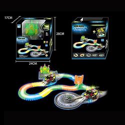 Гоночный светящийся трек Magic Tracks Мэджик Трек с гоночной машинкой со светом