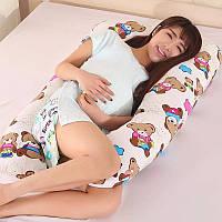 Подушка для беременных и кормления 115* 65 см