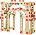 """Игровой набор Eichhorn """"Конструктор 3 в 1. Эйфелева Башня"""", 315 деревянных элементов, 100039091, фото 4"""