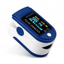 Пульсоксиметр S6 (пульсометр) OLED дисплей напалечный