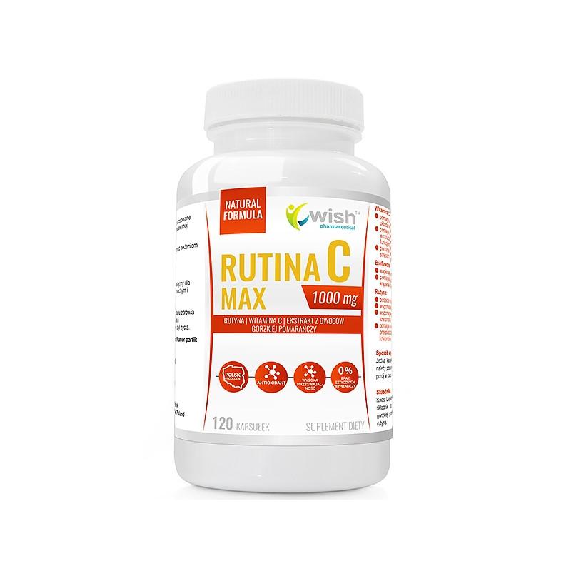 Витамин C, Routine C Max Vitamin C, 1000mg 120 caps, Wish