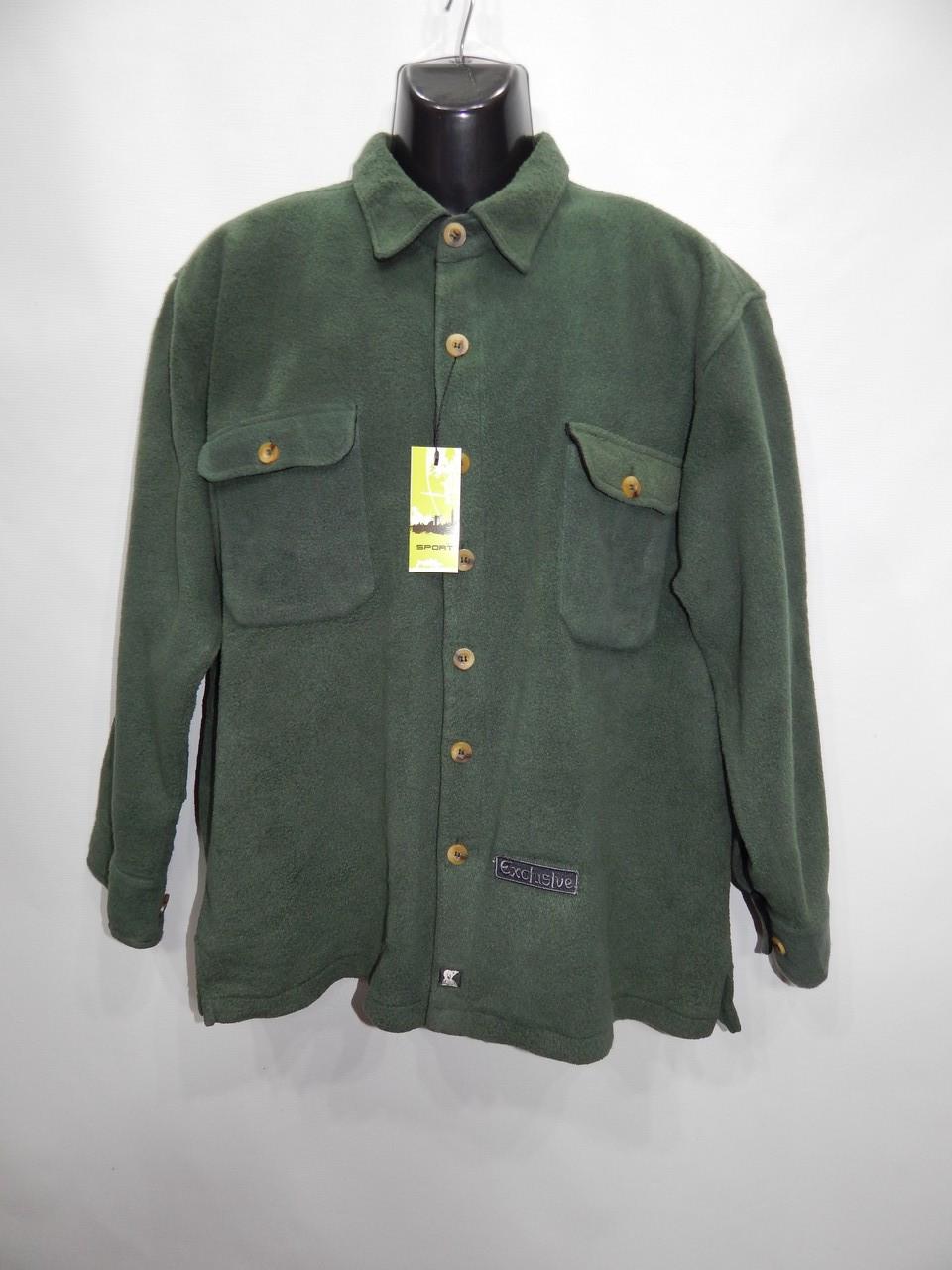 Мужская теплая флисовая рубашка Juneau оригинал р.52 058RT