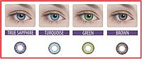 Цветные контактные линзы Adria 2 tone на 3 месяца, (2 шт), Interojo, фото 1