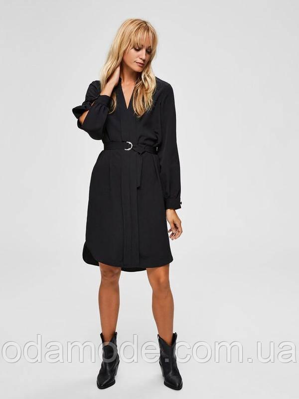 Платье женское черное Selected