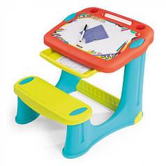 Дитяча парта з дошкою для малювання Smoby 420221