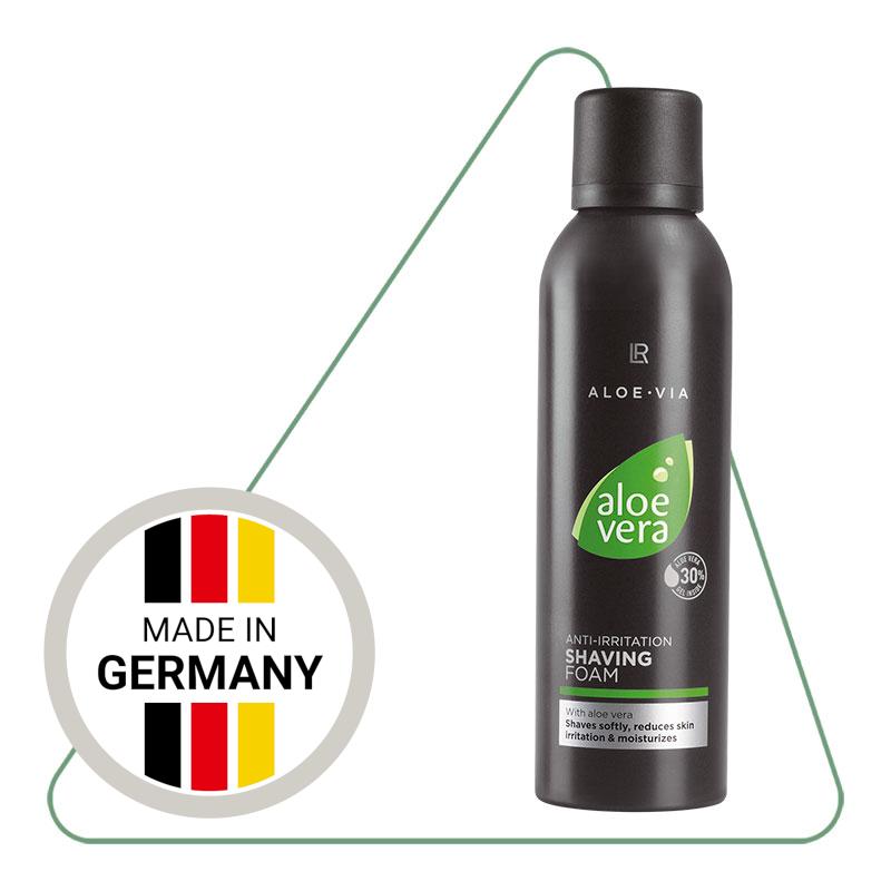 Піна для гоління без подразнень LR Aloe Vera (200 мл)