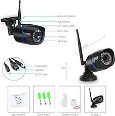 IP камера відеоспостереження бездротова вулична зовнішня BESDER 1080p 2 Mp 6024 Wi-Fi POE, фото 3