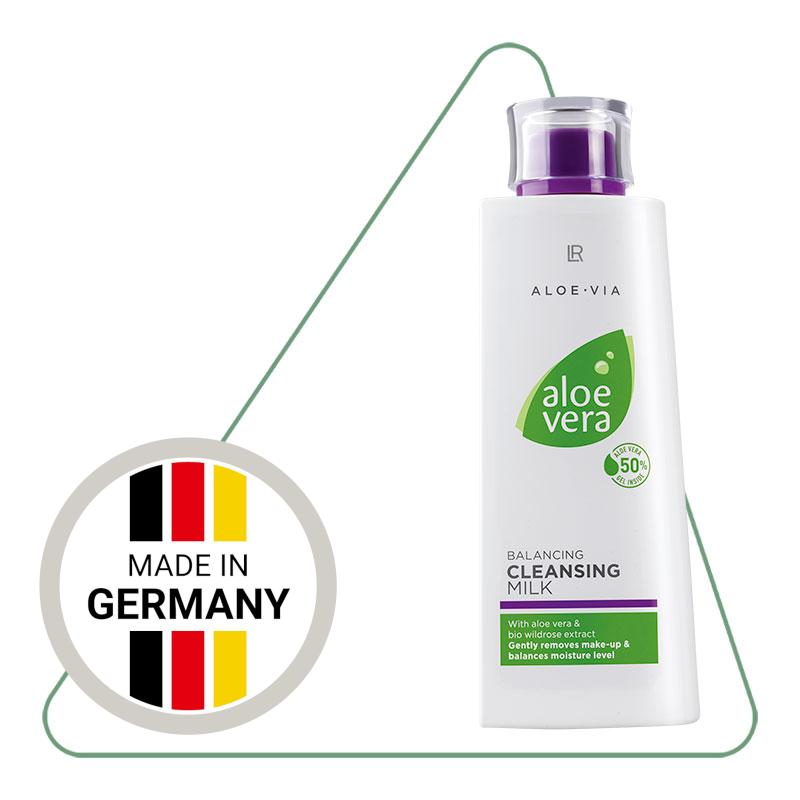 Очищуюче молочко для обличчя LR Aloe Vera (200 мл)