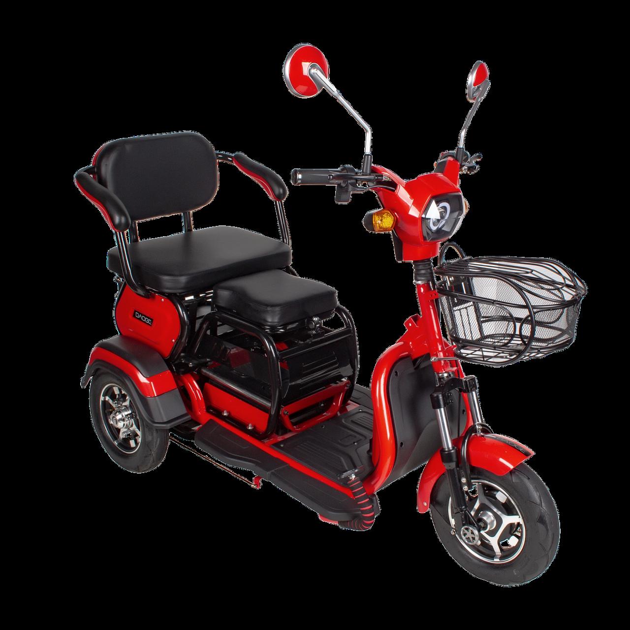 Электрический мопед  AGAMI xk 500W/48V/20AH(AGM) (красный)